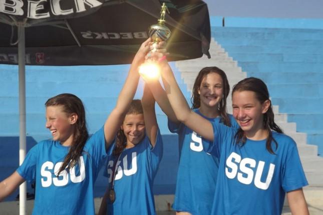 Plivači Spartaka osvojili 14 medalja na Prvenstvu Vojvodine za mlađe pionire