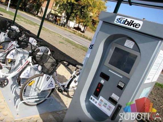 SuBike - sistem iznajmljivanja bicikli