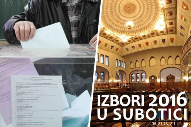 Uživo: Izborni dan u Subotici