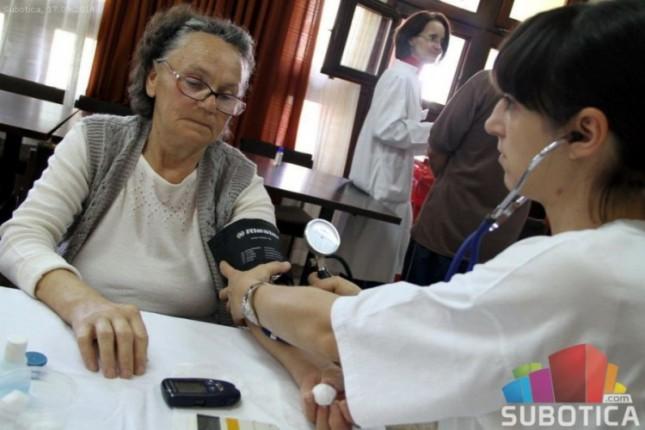 """Akcija besplatne kontrole zdravlja """"Selu u pohode"""" sutra na Paliću"""