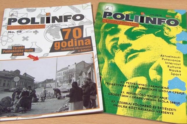 """Školski časopis """"Poliinfo"""" osvojio III nagradu"""
