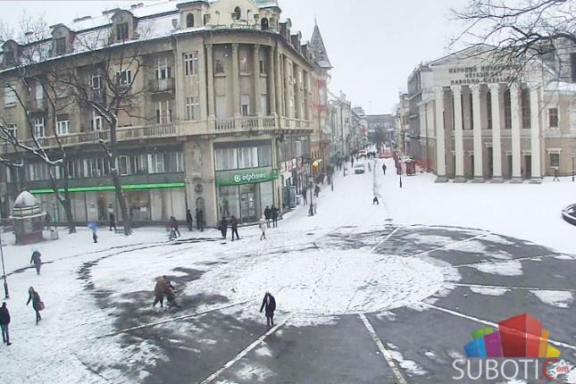 Bez većih problema zbog snega