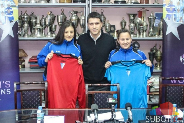 "ŽFK ""Spartak"" predstavio dve nove igračice i započeo pripreme za nastavak sezone"