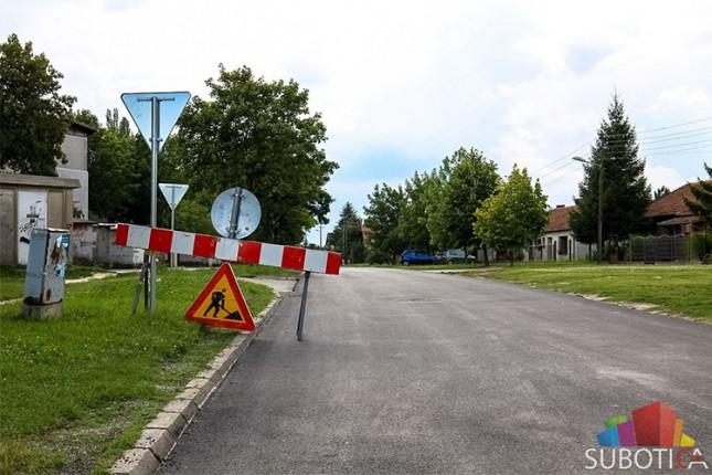 Radovi na rekonstrukciji Tesline ulice ušli u završnu fazu