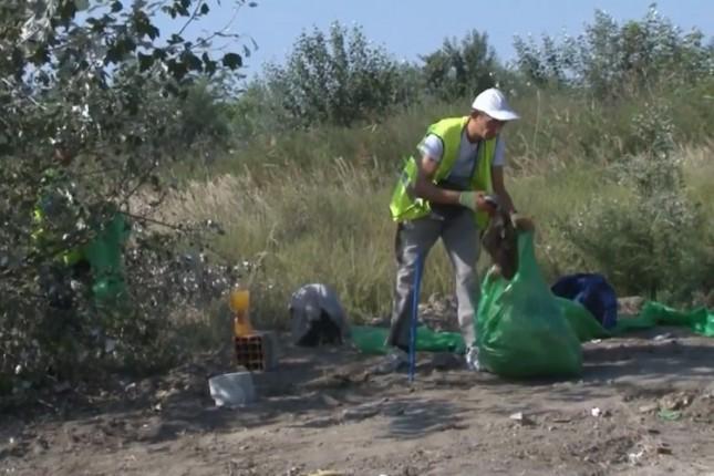 Raščišćena divlja deponija na Zorci