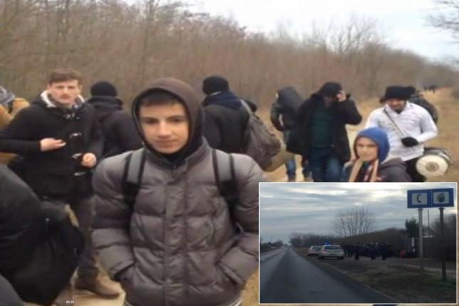 Mađarska policija uhapsila 1233 kosovska Albanca posle ilegalnog prelaska granice