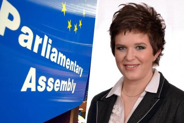 Elvira Kovač u Podkomitetu PS Saveta Evrope