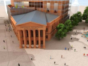 Kolika će biti zgrada Pozorišta?