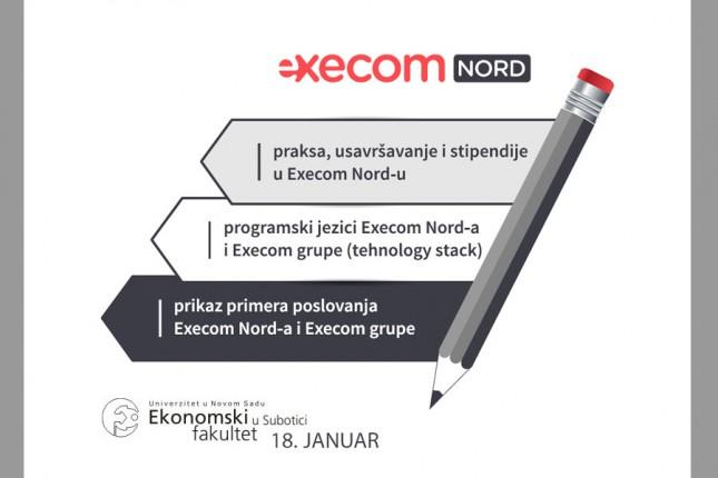 Execom Nord otvara nove mogućnosti za studente Ekonomskog fakulteta