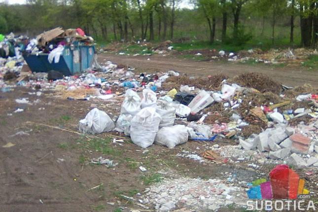 Akcija sakupljanja otpada u Kelebijskoj šumi
