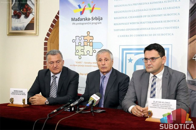 Delegacija Republike Srpske u poseti privrednicima Subotice