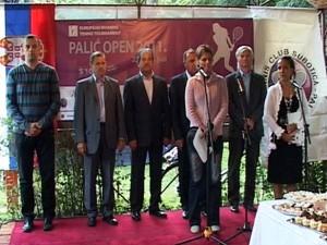"""Svečano otvoren 8. tradicionalni teniski turnir """"Palić Open 2011""""."""