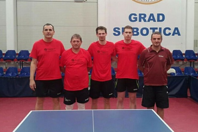 Stonoteniseri Spartak STOSS-a uspešni na startu nove sezone