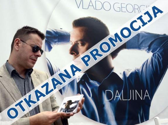Otkazana promocija novog albuma Vlade Georgieva