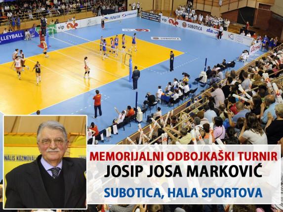 """Danas počinje 2. Memorijalni odbojkaški turnir """"Josip Josa Marković"""""""