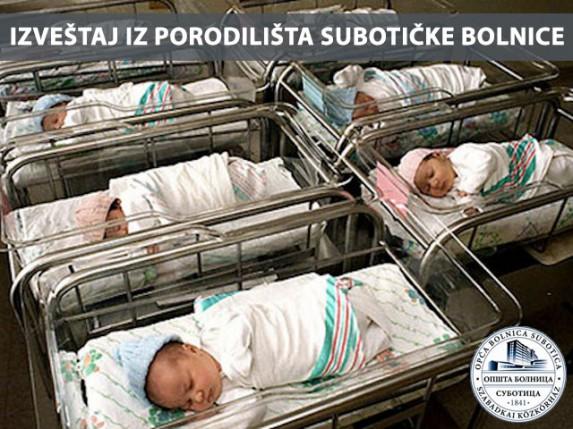 Izveštaj iz porodilišta Opšte Bolnice u Subotici