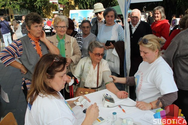 Održana preventivna akcija kontrole zdravlja uoči Dana sestrinstva