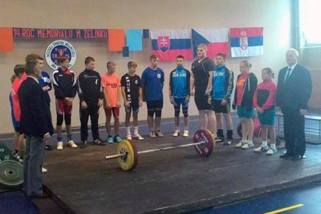 Dizači tegova Spartaka ekipno treći u Slovačkoj