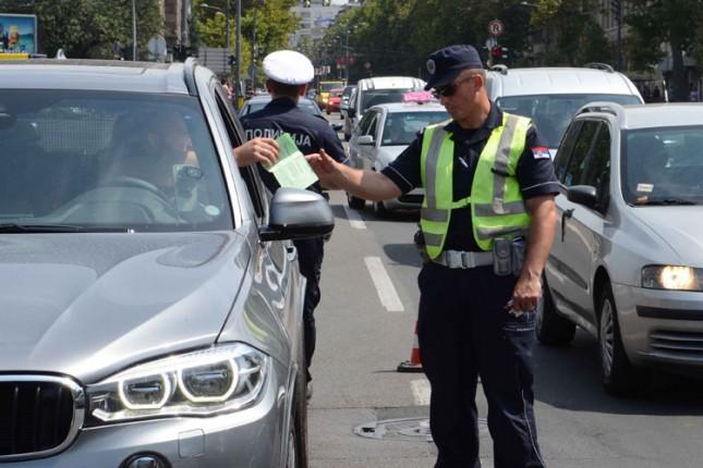 Nastavljena intenzivna kontrola učesnika u saobraćaju
