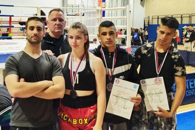 Kik boks: Tri medalje Spartaka na Državnom prvenstvu u Beogradu