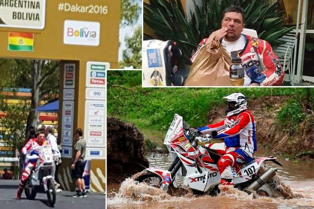 Sagmajster trenutno na 63. poziciji na Dakaru