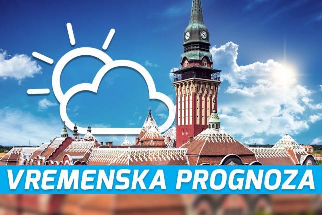 Vremenska prognoza za 14. septembar (petak)