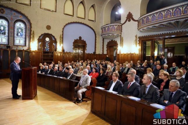 Održan novogodišnji prijem za predstavnike državnih organa i medija