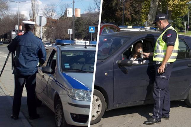 Prošle nedelje iz saobraćaja isključeno 55 vozača, petina zbog alkohola