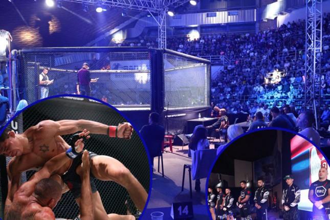 MMA turnir ispunio očekivanja, lokalni borci poraženi