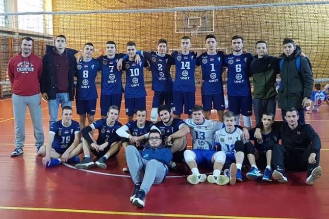 Odbojka: Juniori Spartaka poslednji na završnom turniru