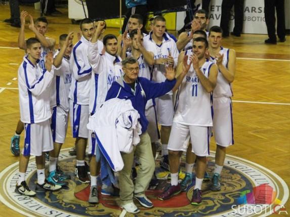 Pobeda košarkaša Spartaka protiv Pirota za kraj polusezone