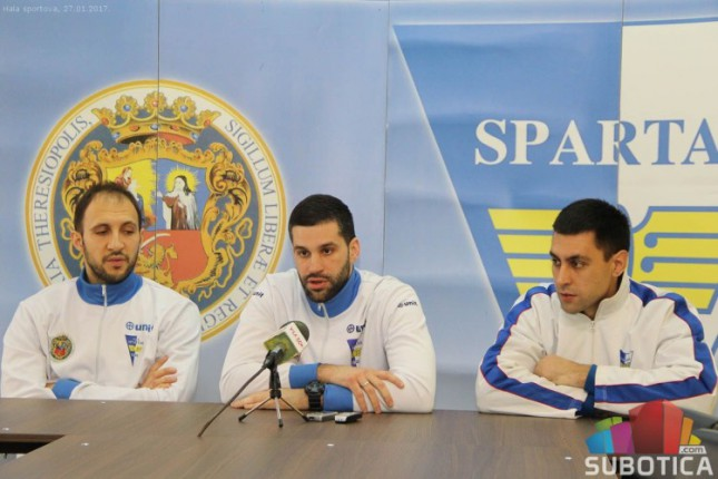 Kоšarkaši Spartaka sutra dočekuju Smederevo