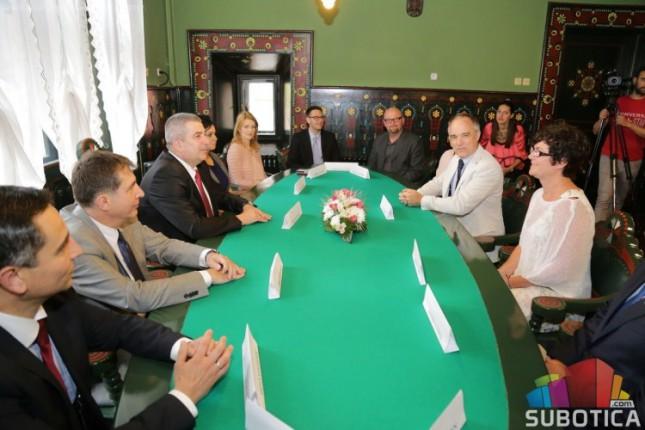 Ambasador Švedske u poseti Subotici