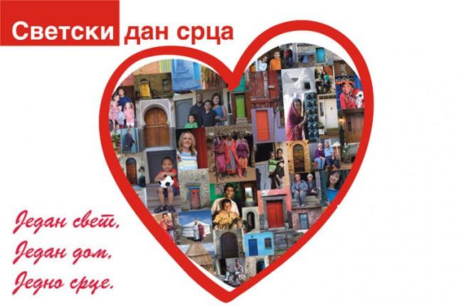 Sutra besplatna kontrola zdravlja u sklopu obeležavanja Svetskog dana srca