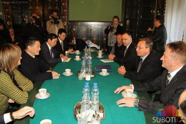 Potpisan Memorandum o odnosima grada Subotice i kineskog grada Šaosinga