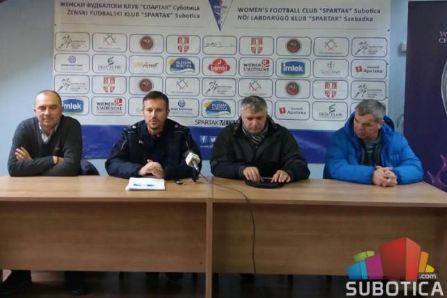 Fudbal (Ž): Spartak počeo pripreme za prolećni deo šampionata