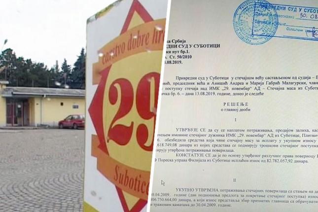 """Počinje isplata zaostalih zarada bivšim radnicima IMK """"29. novembar"""""""