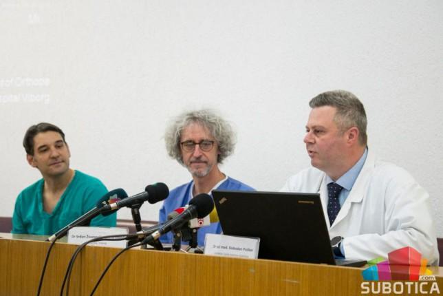 Ortopedi iz Danske razmenili iskustva sa kolegama iz Subotice