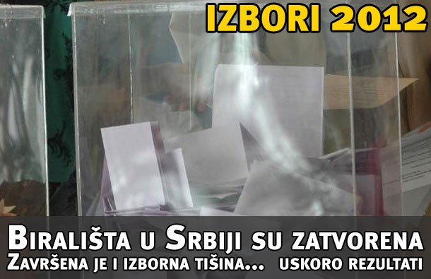 Izbori 2012 - izlaznost, vesti sa terena - uživo