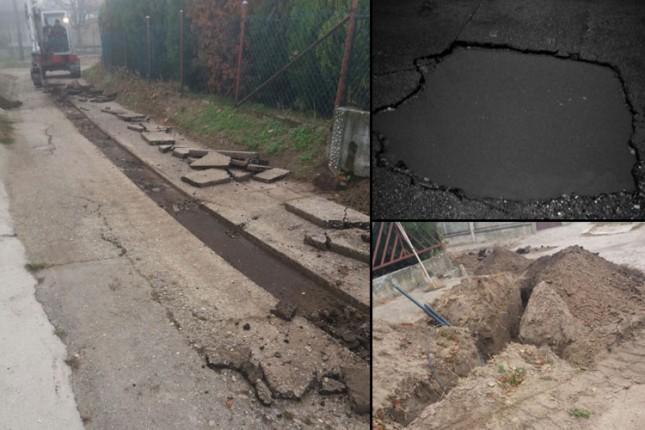 Postavljanje optičkih kablova donelo raskopane ulice i putnu infrastrukturu