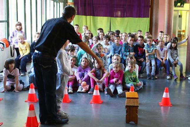 Školica saobraćaja za decu u petak na Prozivci