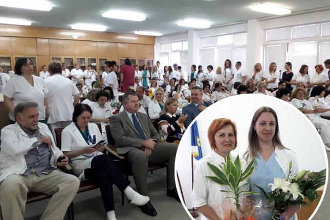 Gita Čeke i Suzana Jovanović najuzornije medicinske sestre u Opštoj bolnici
