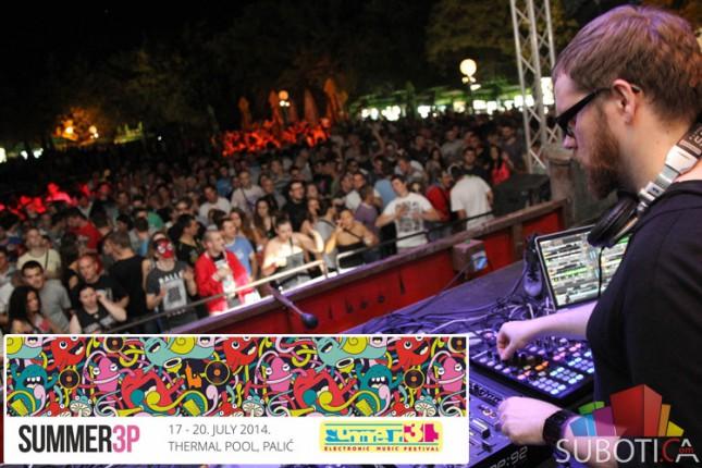 12. Summer3p festival posetilo 7.500 ljudi