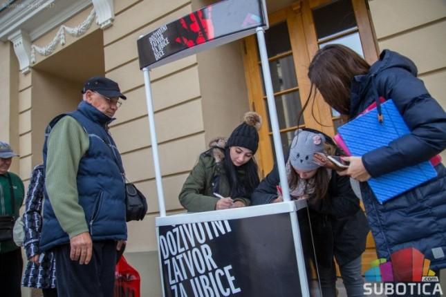 Incijativu doživotnog zatvora za ubice dece podržalo 125,5 hiljada građana Srbije