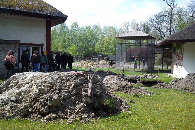 Izgradnja kanalizacije u ZOO vrtu