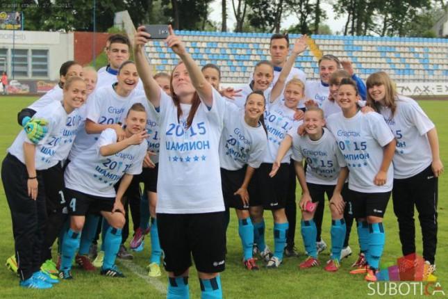Fudbalerke Spartaka savladale LASK Crvenu zvezdu i primile pehar šampiona Srbije