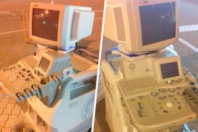 Sprečen pokušaj krijumčarenja ultrazvučnog aparata