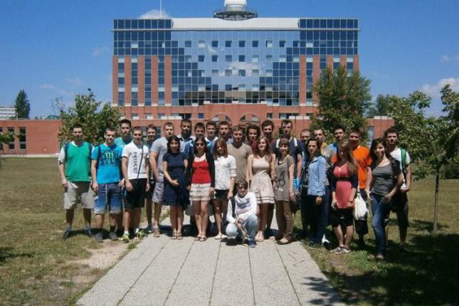 Studenti VTŠ-a u letnjoj školi informatike u Budimpešti
