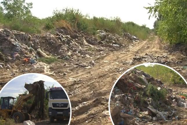 Uklanja se divlja deponija u Donjem Tavankutu