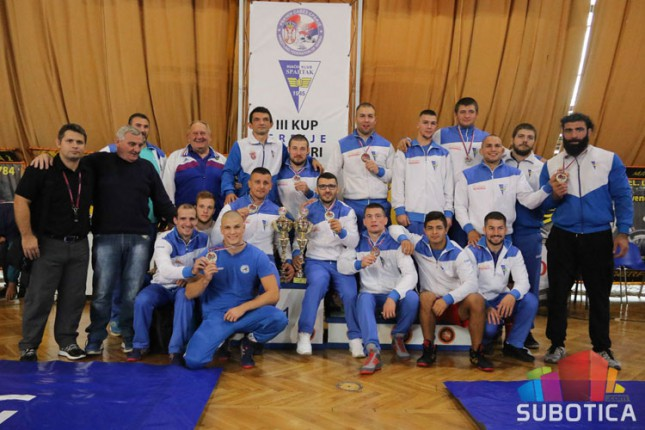 Rvanje: Spartak pobednik Kupa Srbije